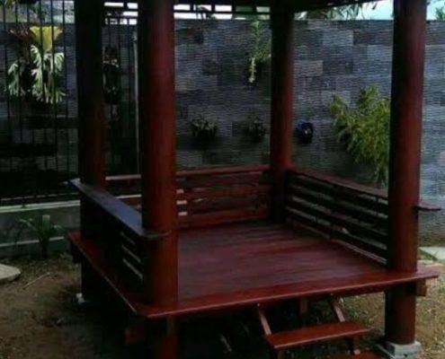 jasa pembuatan taman dan gazebo di Yogyakarta Jogja (3)